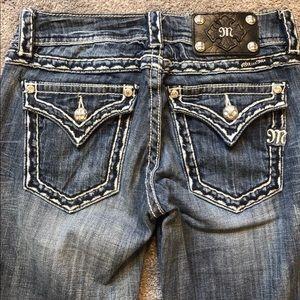 Miss Me jeans worn twice!